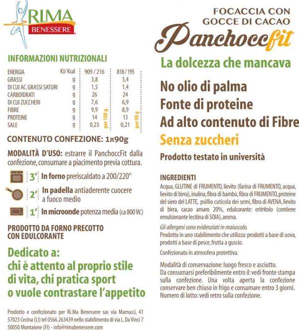 scheda panchocc fit